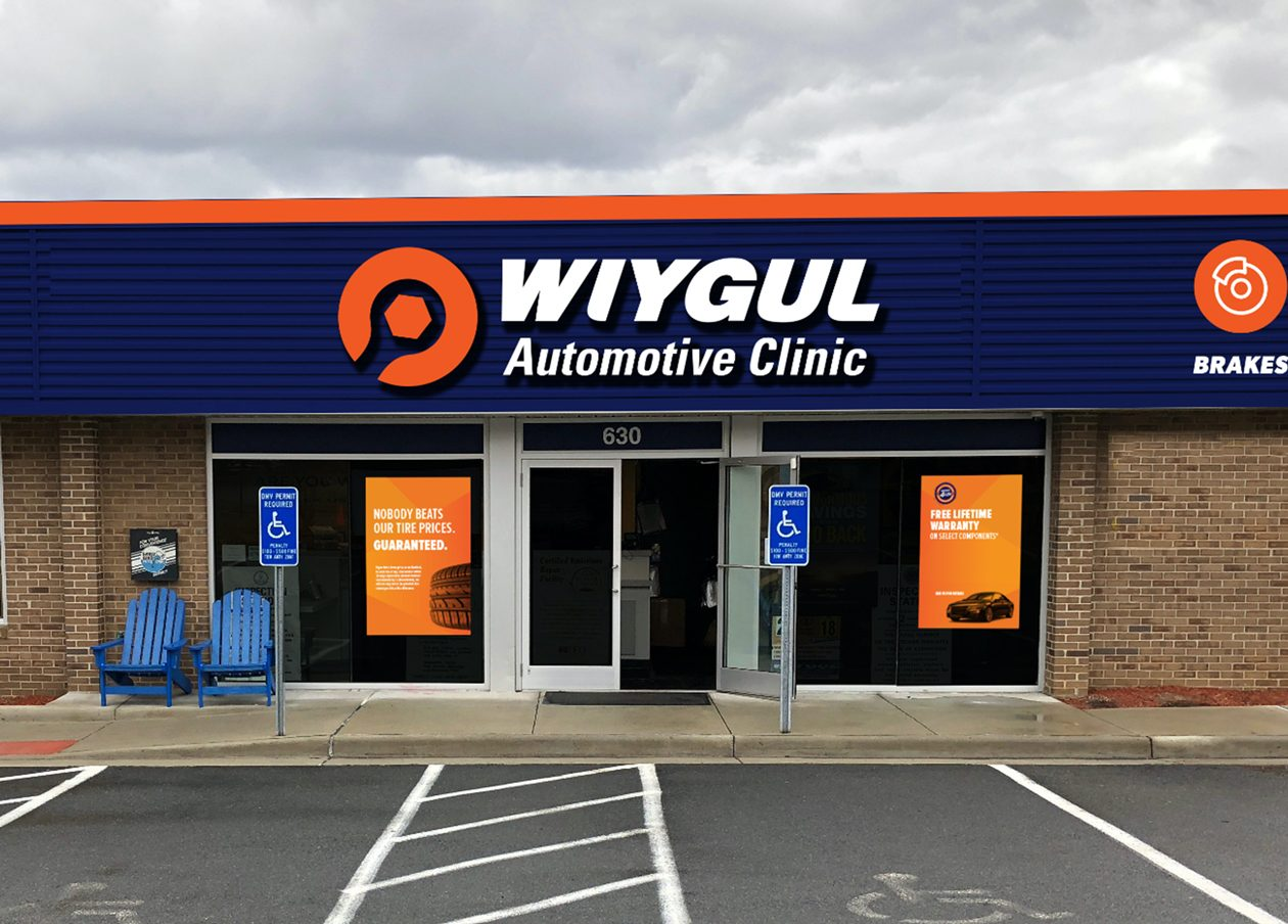 Wiygul Automotive Clinic's new logo makes them stand out, like never before.
