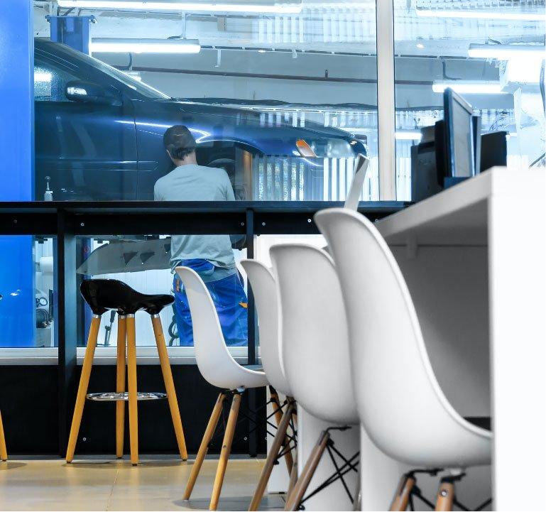 Automotive Retail Space Design: